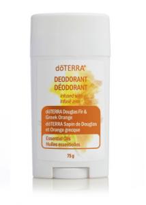 Déodorant aux huiles essentielles de sapin de Douglas et d'orange grecque doTERRA